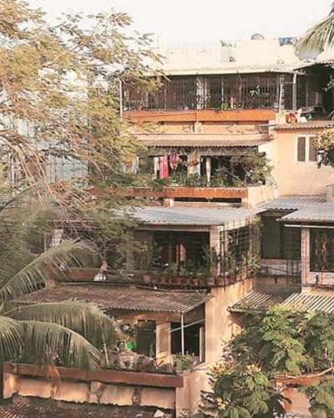 Lovely Villa, set in LIC Colony, Borivali, is about the relationship between architecture, everyday life, family and memory of home.