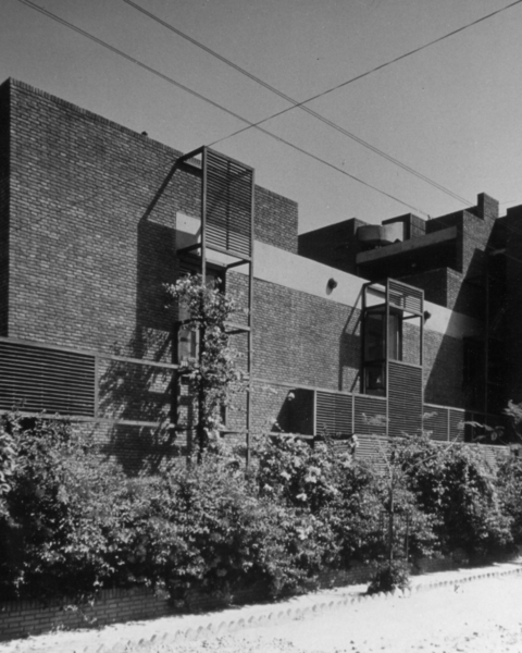 Kubba House, exterior view