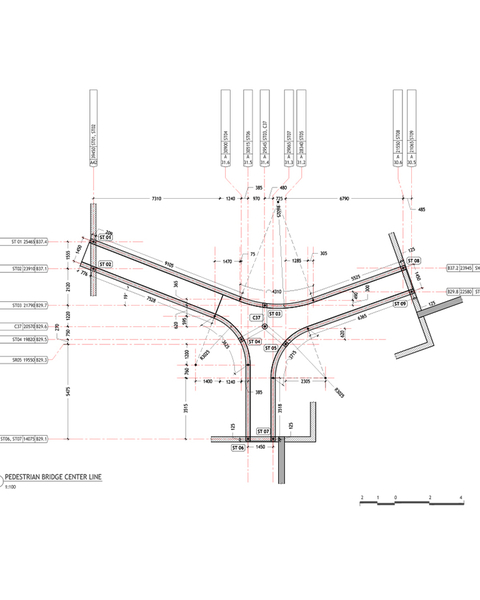 Plinth Framing Plan