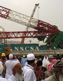 September's collapsed crane in Mecca highlighted the extent of Saudi Arabia's building boom