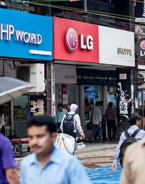 Nehru Place: intense, mixed, complex – a completely porous spot in the city.