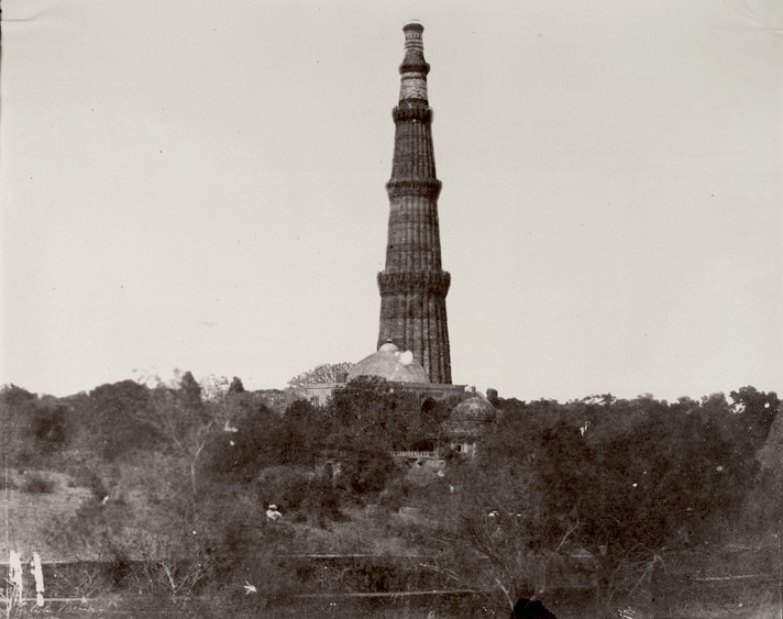 The Kutb Minar. General view