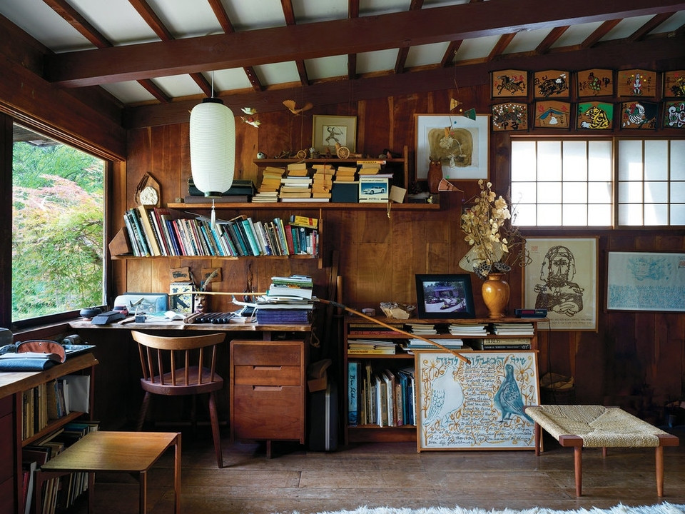 Kevin Nakashima has never moved from his family home, the first that his father, George Nakashima, built on the property in 1946