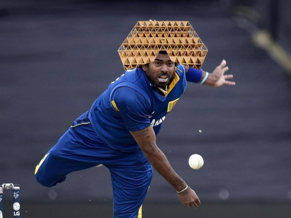 For all Malinga fans, I give you: Space 'Fro(m)'