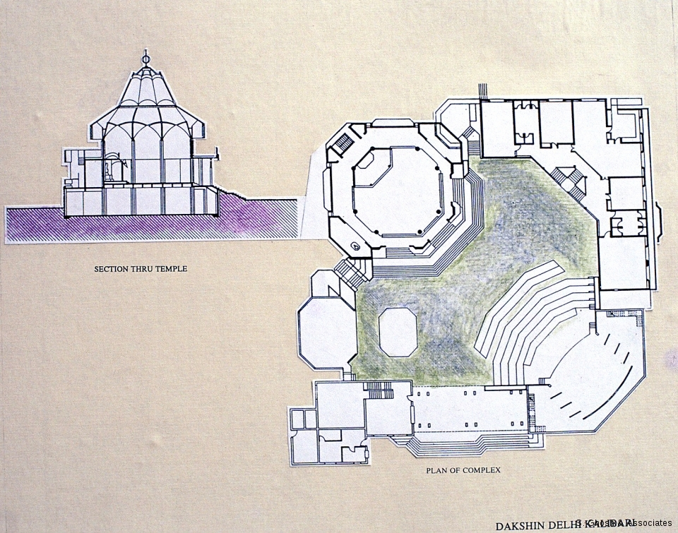 Plan of the Complex and Sections