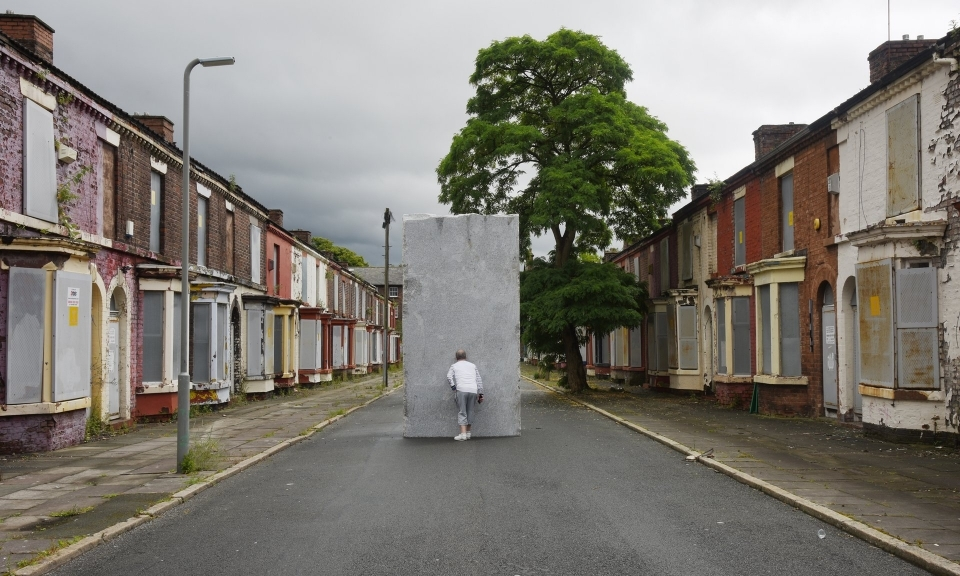 Lara Favaretto's installation at the Liverpool Biennial in 2016. An estimated 200-300 cities host these exhibitions.