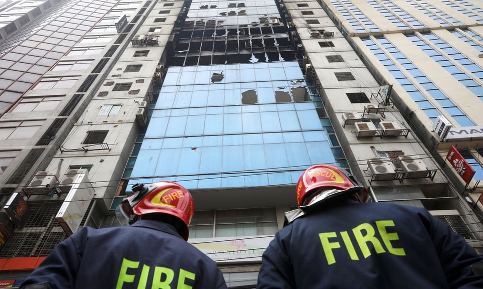 Firefighters continued to search the 22-storey FR Tower for bodies
