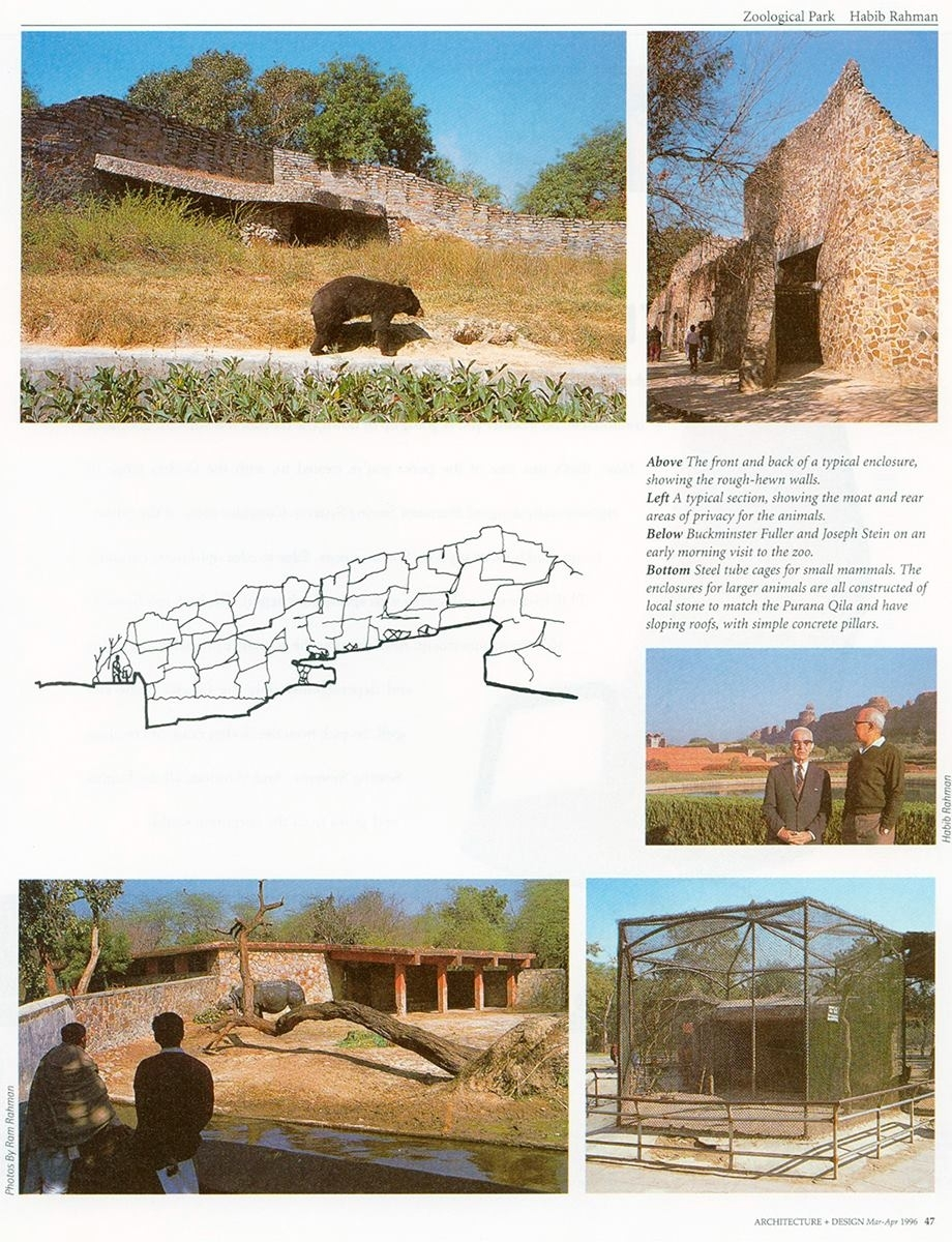 Layout from Architecture + Design, May 1996