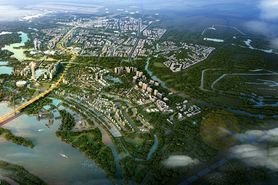 P&T Group, the Hong Kong architecture and engineering firm, is working on a master plan for the Vietnamese government to build satellite communities linked to old Hanoi via rail and tramlines.