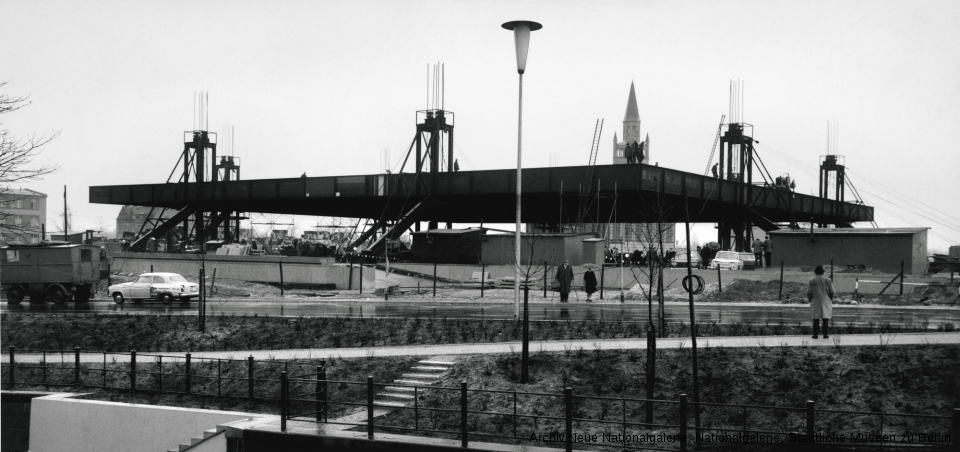 Raising of the roof, April 5, 1967