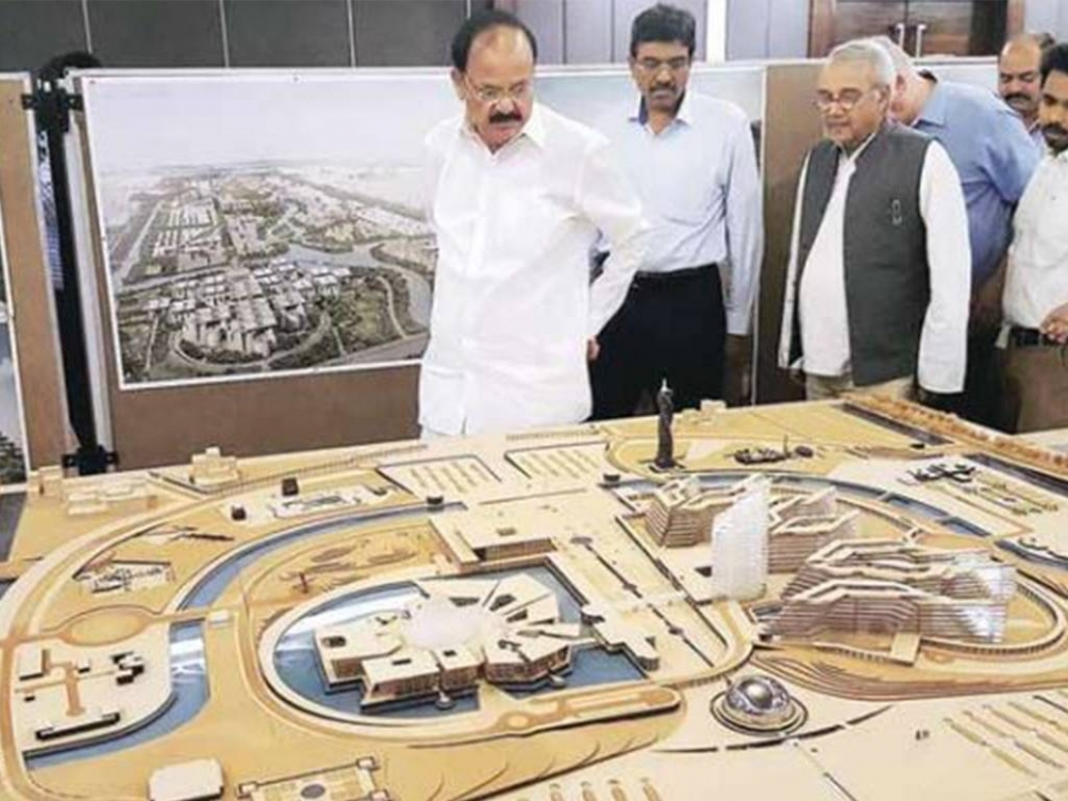 The iconic structures of new capital city Amaravati will be a compilation of best ones from Astana, Putrajaya, Brasilia, Washington DC, London and New Delhi.