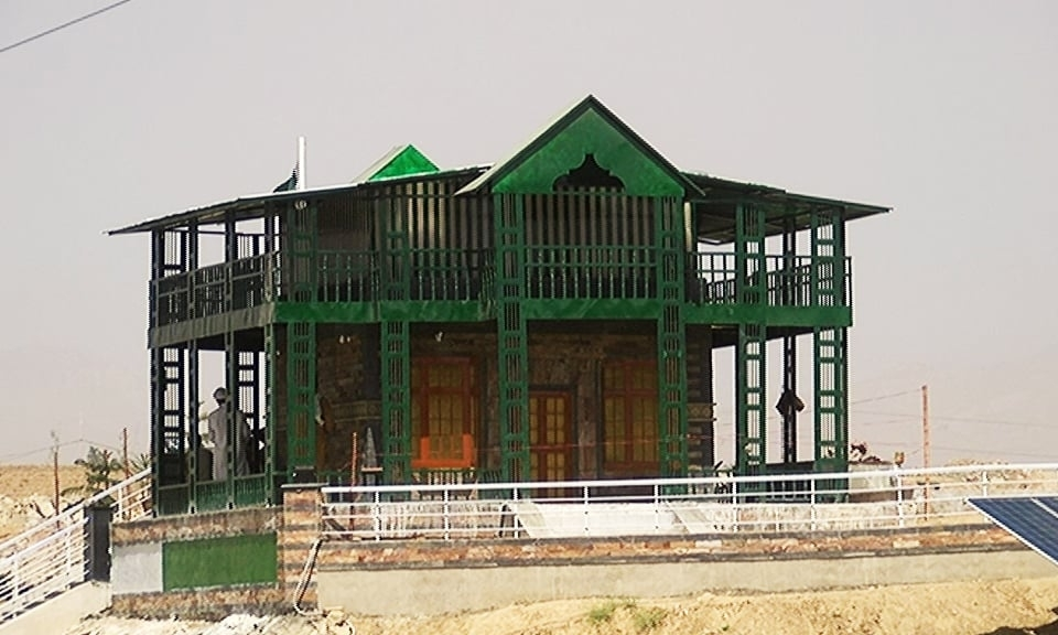 Recreated Ziarat residency