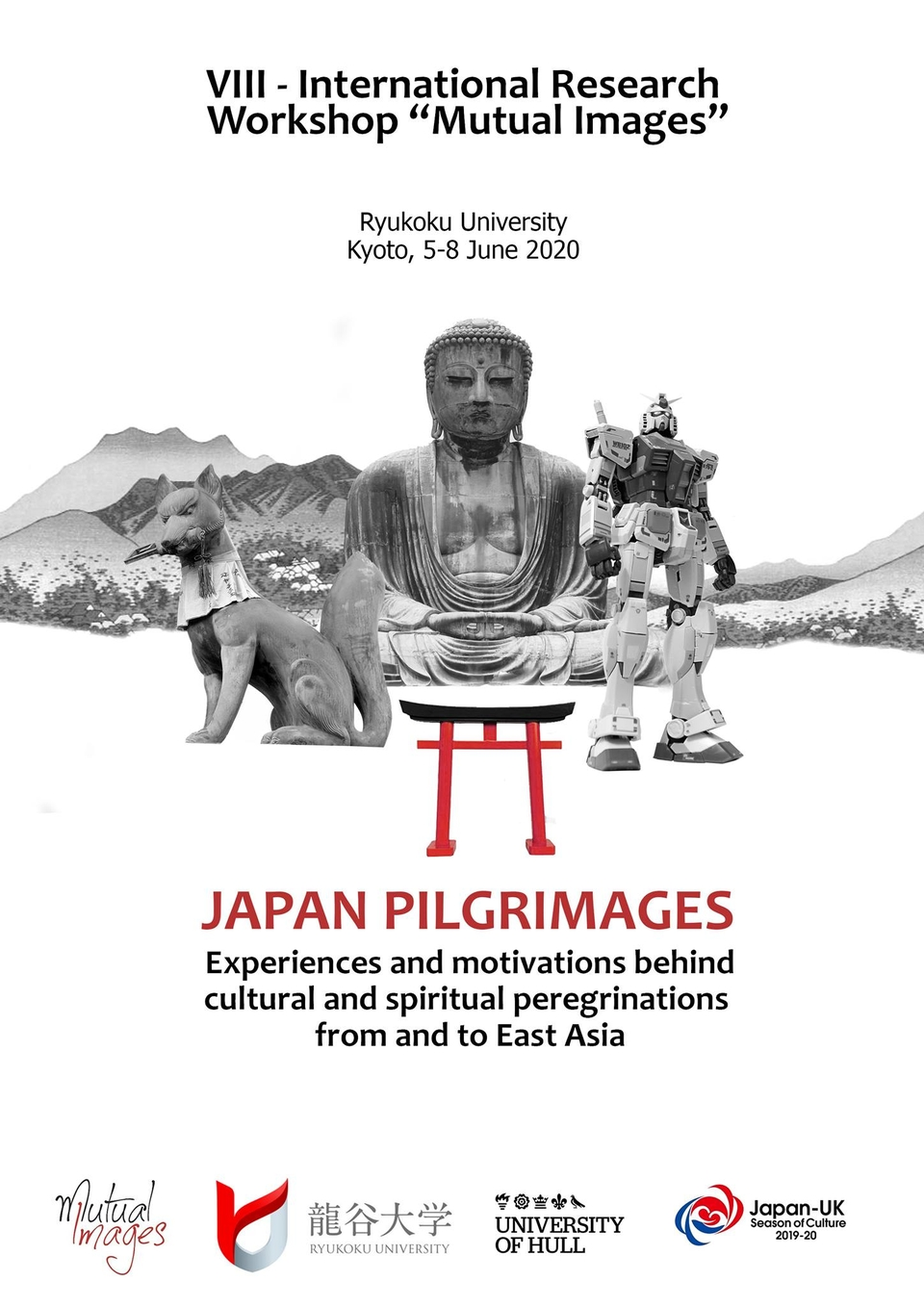 Poster, Japanese Pilgrimages: Experiences and Motivations Behind Cultural, Spiritual and Religious Peregrinations to and from East Asia