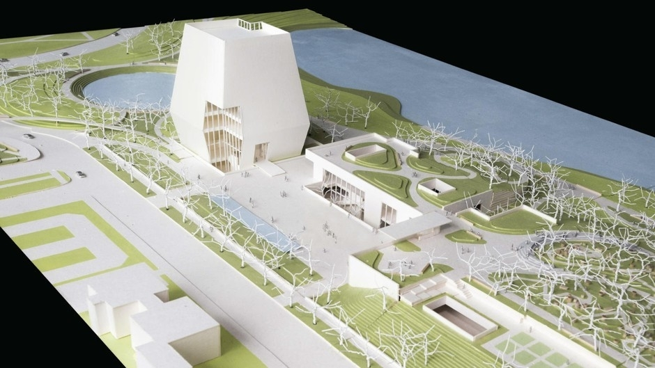 The Barack Obama Presidential Center, designed by Tod Williams Billie Tsien Architects.