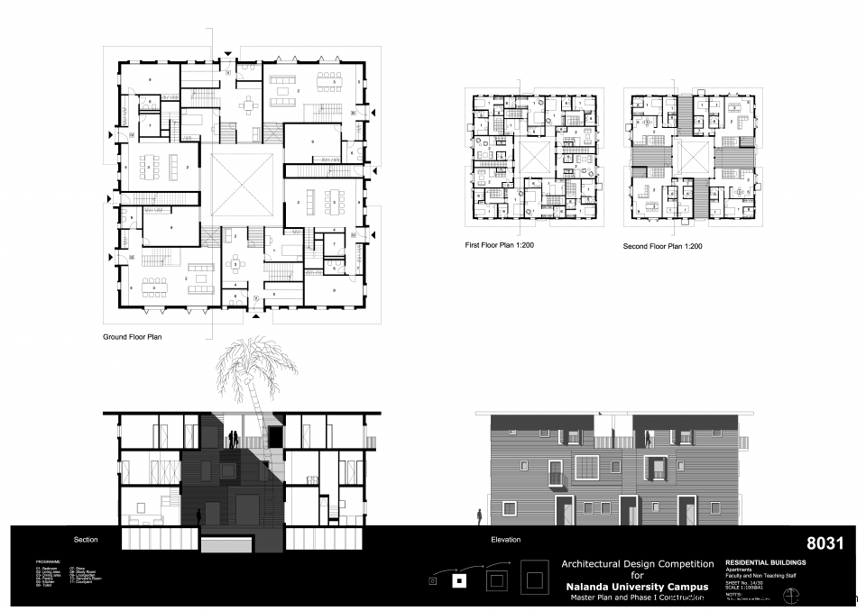 8031 Sheet 14 Apartments