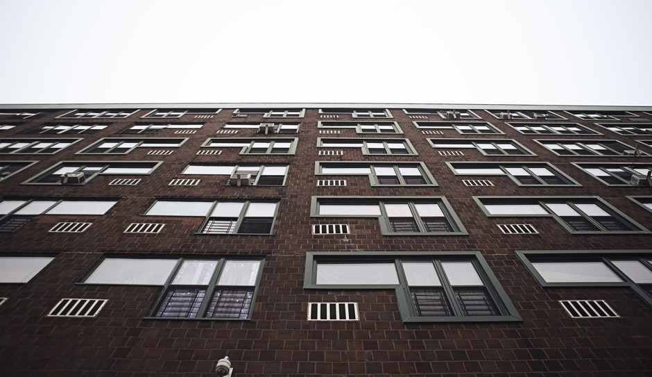 """1970s apartment building in the Bronx """"One day I got a telephone call from Ed Logue asking if I wanted to be involved in a housing project at Twin Parks in the Bronx,"""" recalls Richard Meier. """"Of course I said yes."""""""