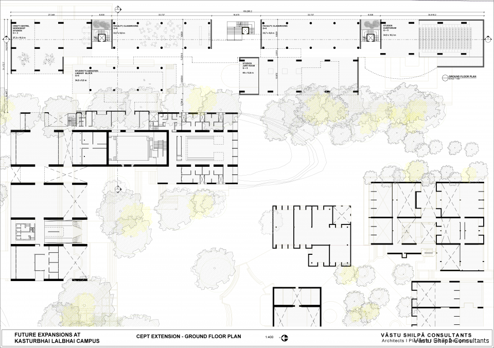 CEPT EXTENSION - GROUND FLOOR PLAN