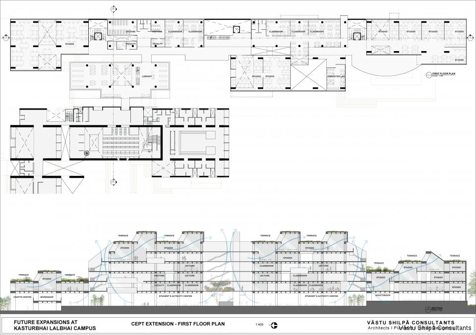 CEPT EXTENSION - FIRST FLOOR PLAN