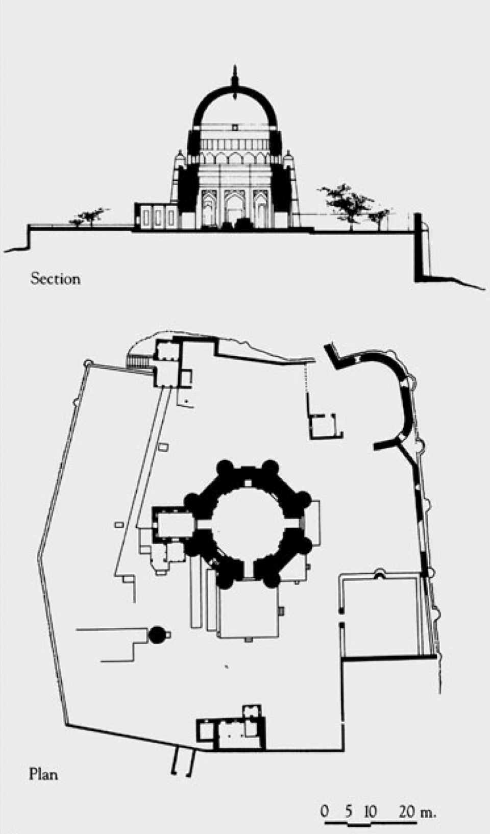 Section and Plan
