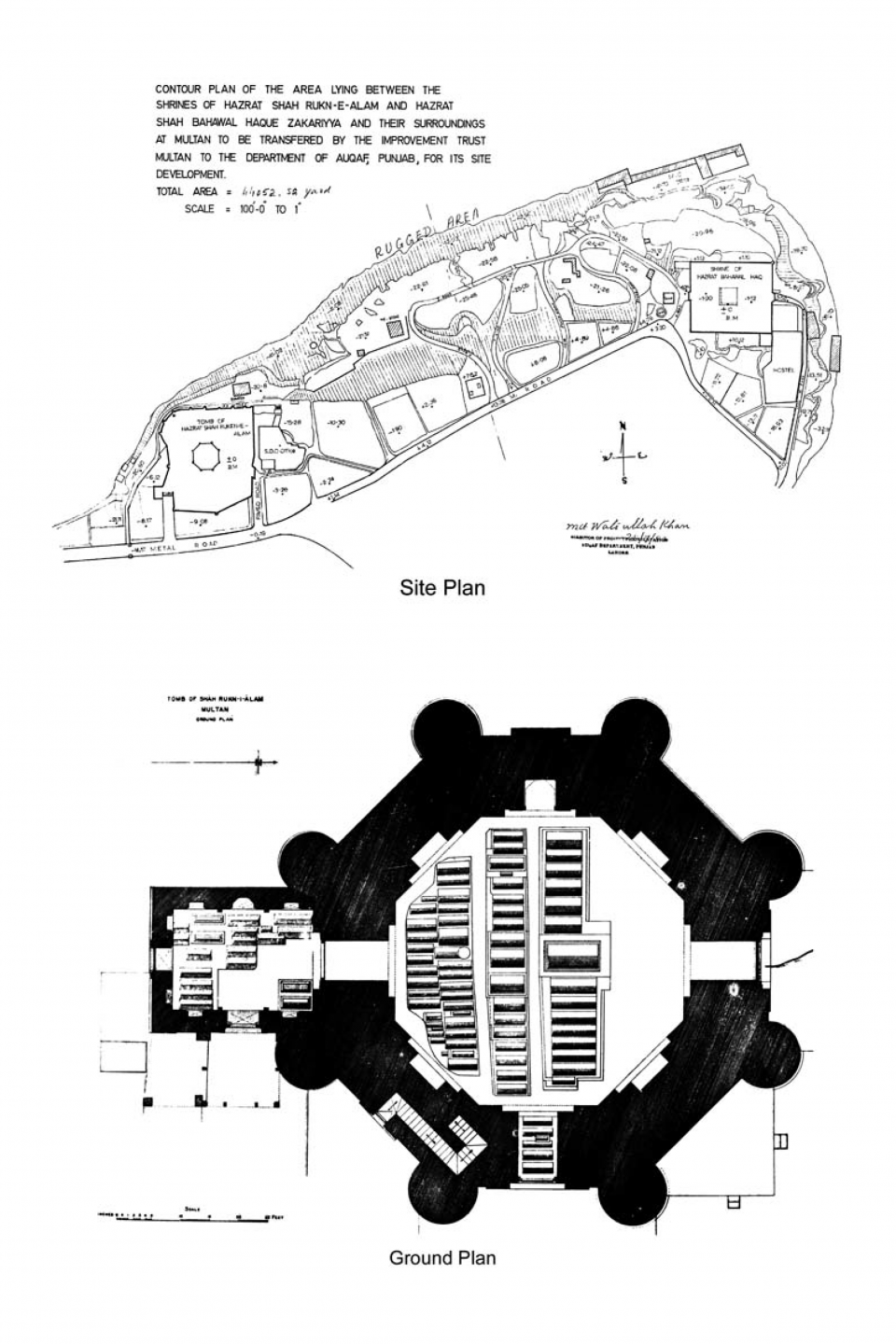 Site and Ground Plans