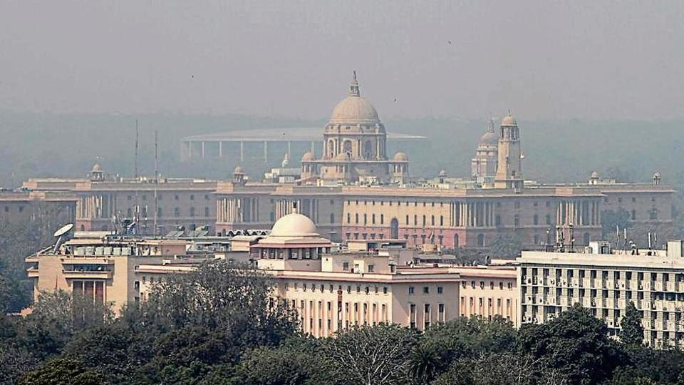 The central vista, consisting of some of the most iconic buildings of Delhi, came into being when the British capital was shifted to Delhi from Calcutta in 1911