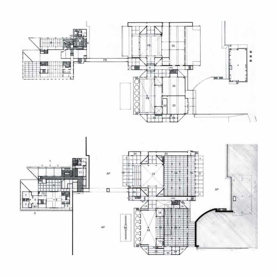 MAFCO Dairy, First and ground floor plans