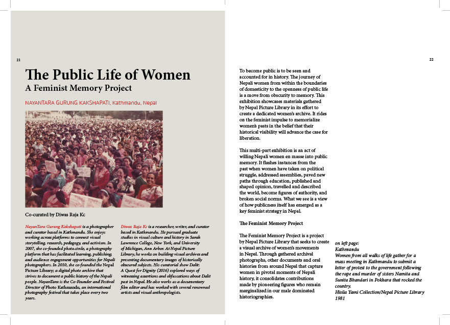 The Public Life of Women, Page 01