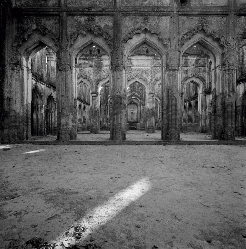 Derry Moore, Ruins of British Residency, Lucknow, 1977, Silver gelatin print.
