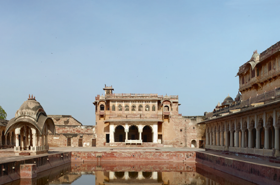 Bakht Singh Mahal Court and Fountains