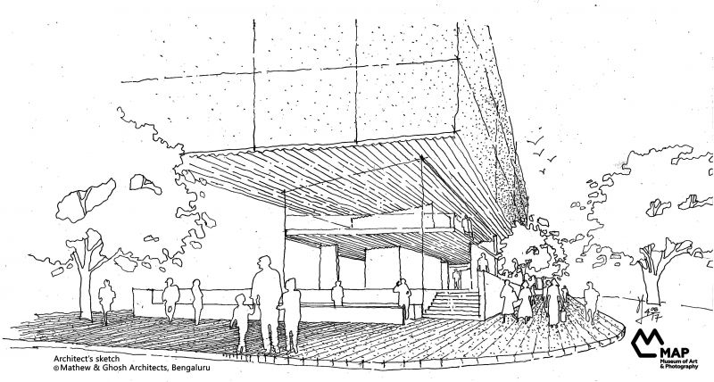 An artist's impression of the building.