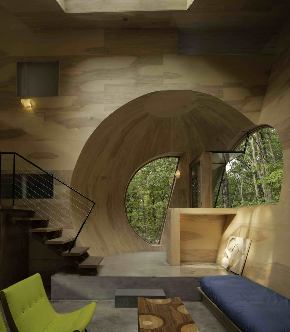 Steven Holl Architects, Exploration of IN House (interior), 2015–2016,