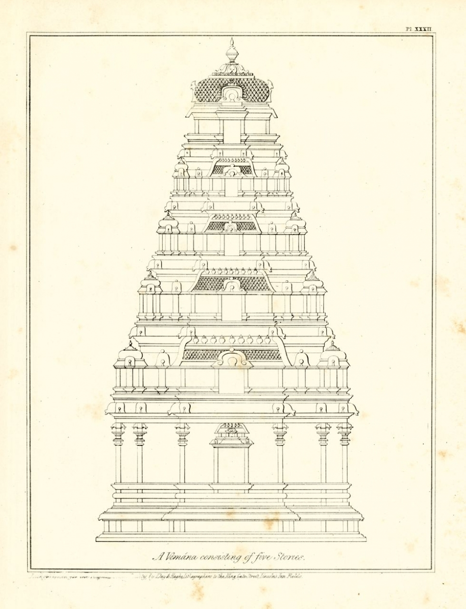 essay on the architecture of the hind atilde ordm s south asia ldquoa vimana consisting of three stories rdquo from ram raz essay on ldquo