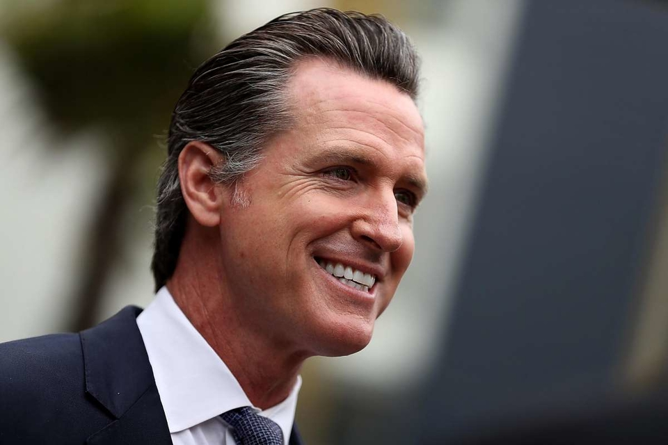 """Gov. Gavin Newsom has authorized the state to sue Huntington Beach to force the Orange County coastal city to plan more affordable housing, saying cities that refuse to try to meet construction targets """"will be held to account."""""""