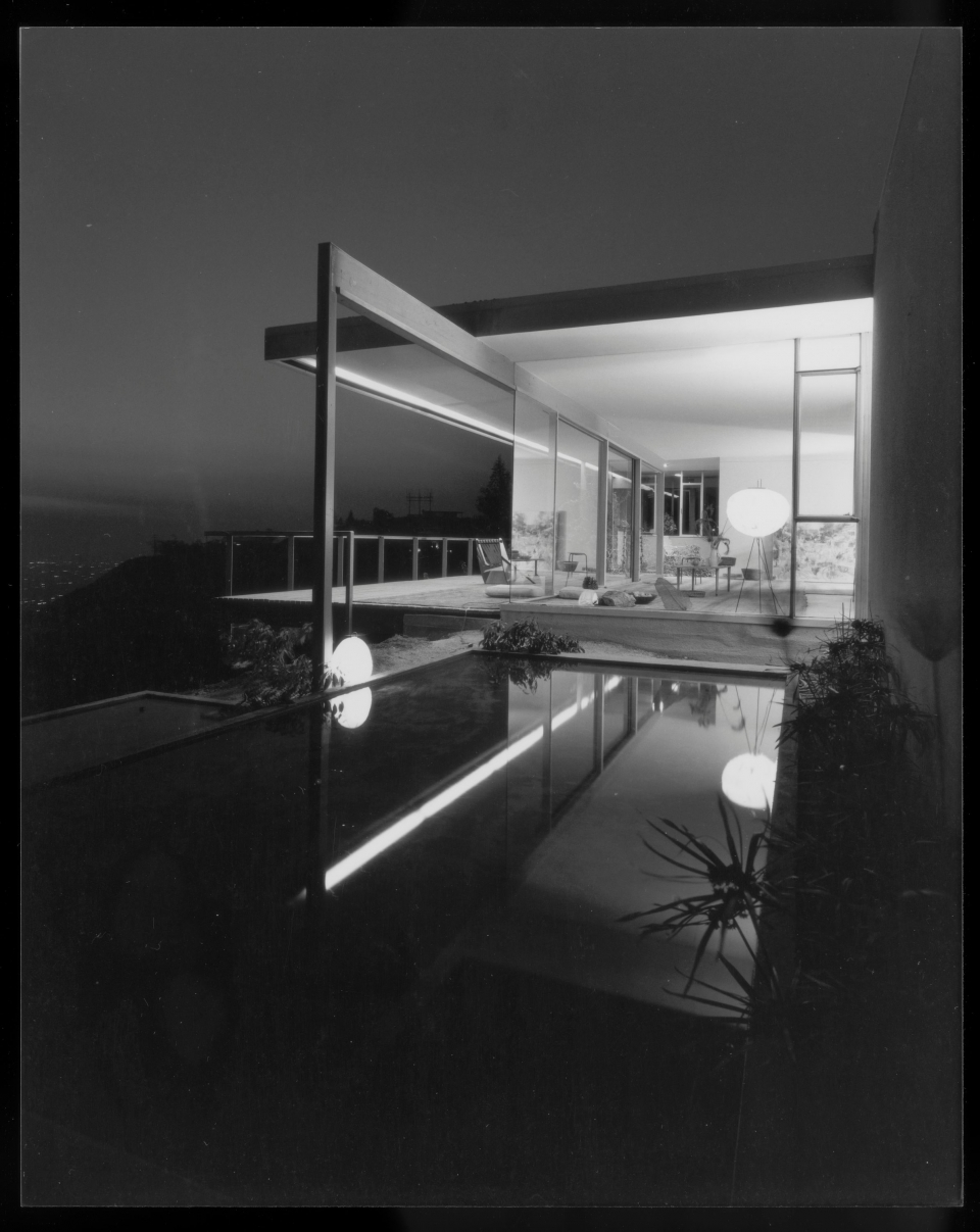 The Chuey House was photographed by Julius Shulman in 1960