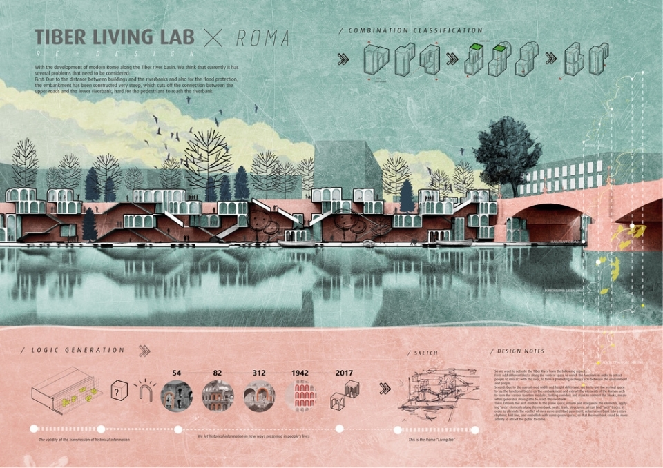 Winner: Tiber Living Lab by Shengyu Huang, Chen Mengtong, Wu Wenhao and Wei Lifeng (China)