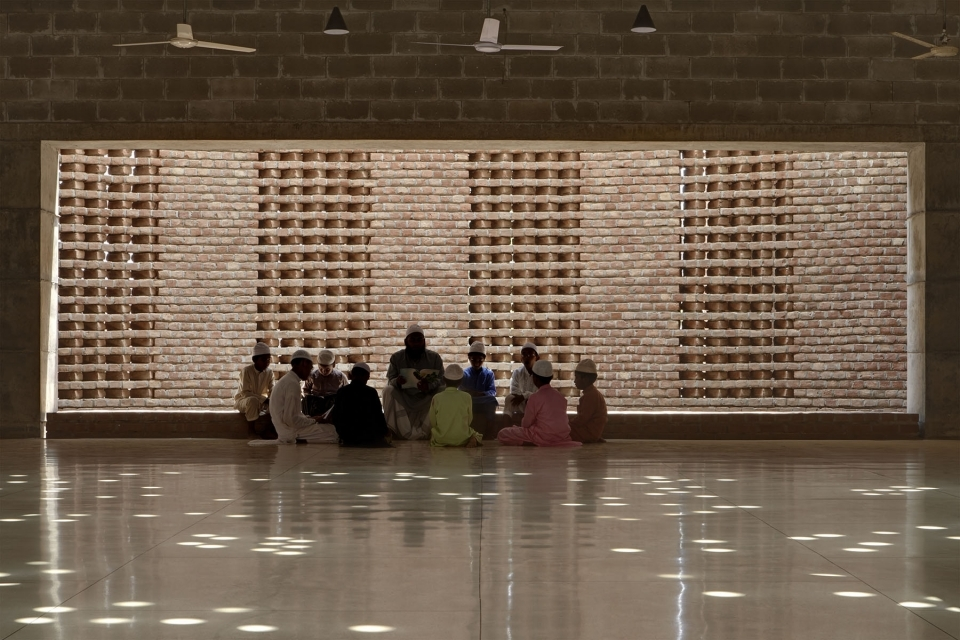 Apart from being the spiritual centre for the residents, the mosque became a community centre, a place to gather, a place that was orderly, clean, and filled with light and good ventilation