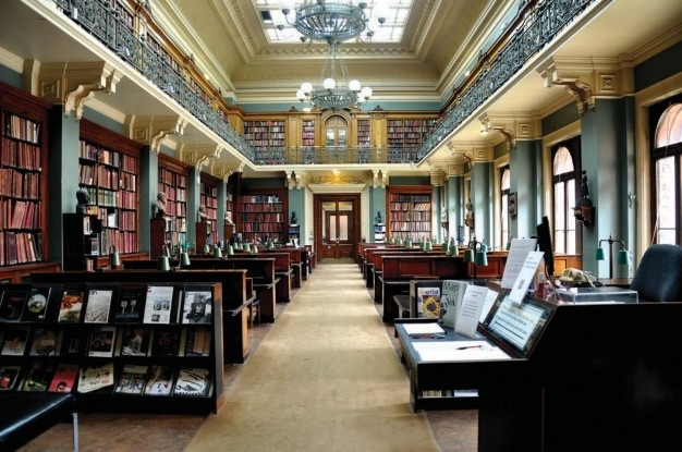 The library, Victoria and Albert Museum of Architecture