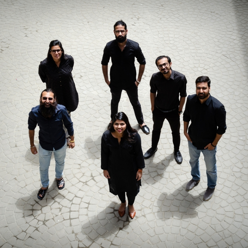 Design and Curatorial Team: the first  National Pavilion of Pakistan at Venice Biennale