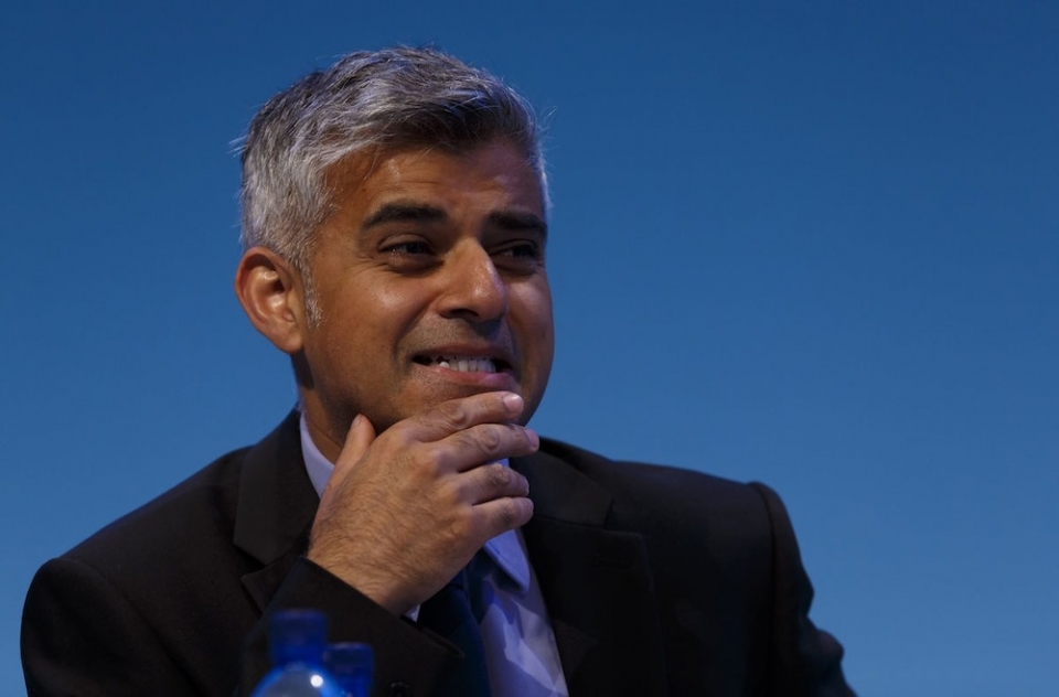 MP Sadiq Khan at Labour's annual party conference in Brighton in 2013