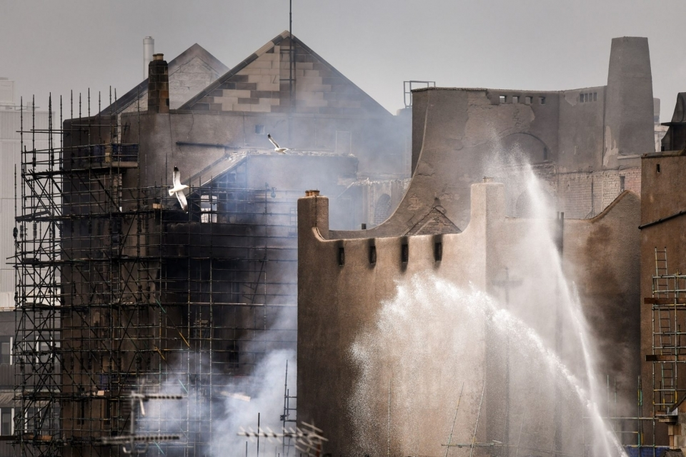 The damage to Glasgow School of Art is said to be far worse than after the previous fire, in 2014.