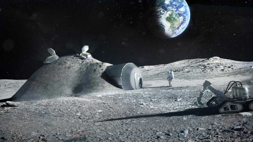 If a mission to Mars is to succeed, a Moon colony could be a valuable stepping stone