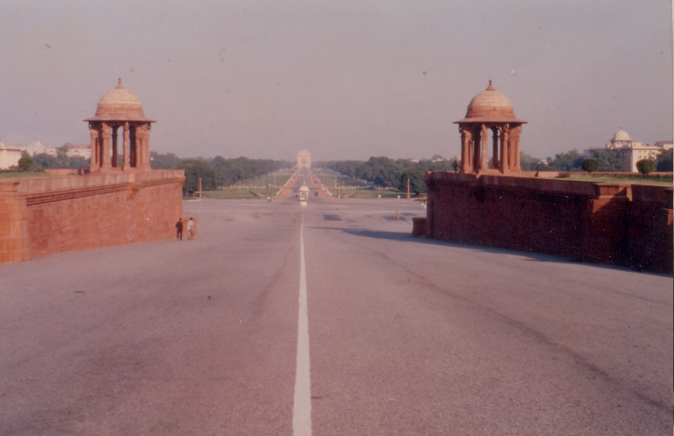 Photograph 4 – Vijay Chowk and the Central Vista