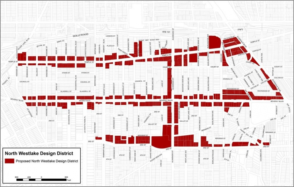 The city is proposing design guidelines in the designated areas