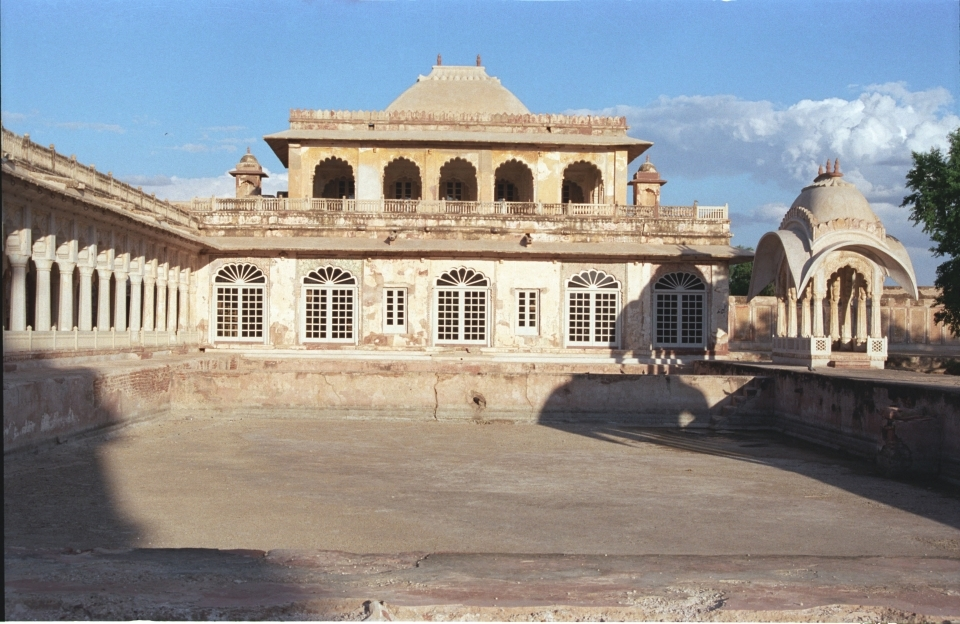 Abha Mahal after conservation