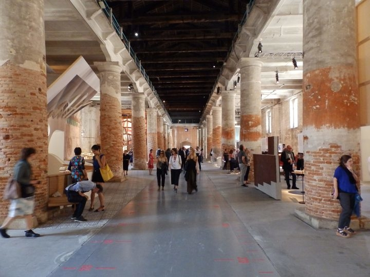 'Freespace', this year's main exhibition in the Corderie dell'Arsenale in Venice