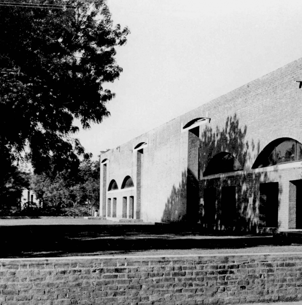Anant Raje, Students' Dining Halls and Kitchens, IIM Ahmedabad, Exterior