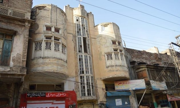 A Jewish building in Rawalpindi.