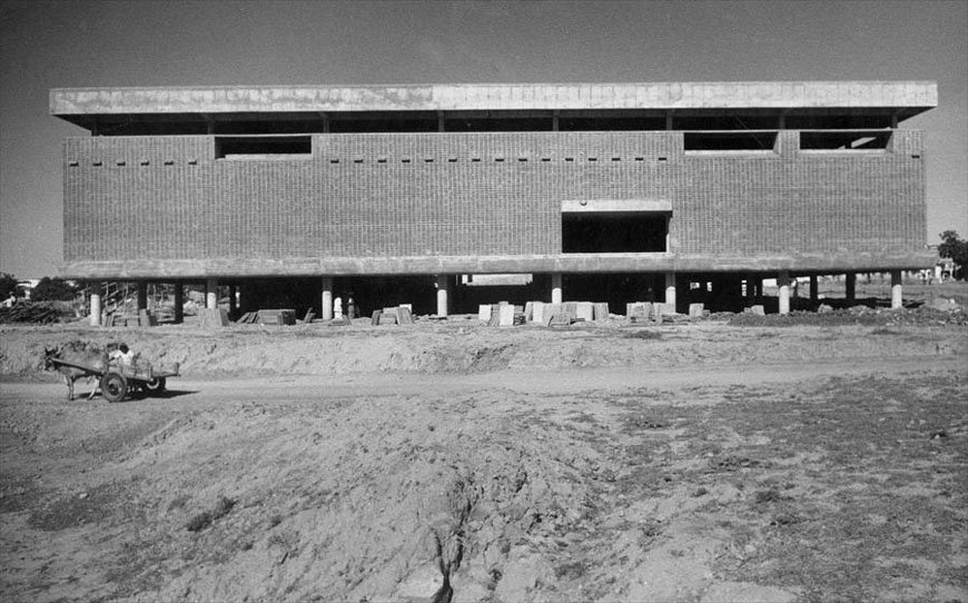 Le Corbusier, Musée, Ahmedabad, India, 1951
