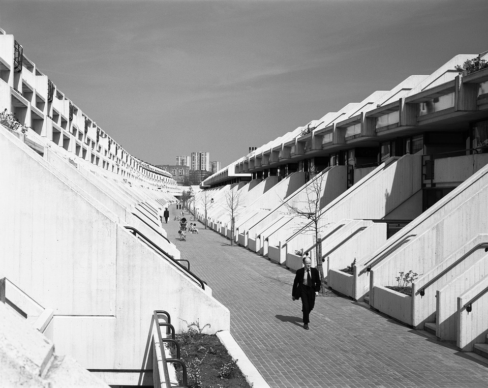 Alexandra Road Estate, Camden, London, 1979