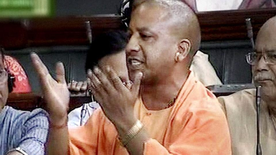 The nine-day-long celebrations will end on June 15. This was Adityanath's first visit to Ayodhya after the Lok Sabha polls.